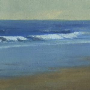 East Coast, 6x16 inches, oil on canvas, 2016