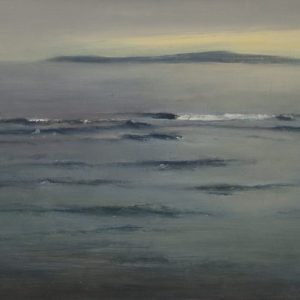 The Island, 10½x13½ inches, oil on panel, 2014