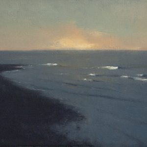 The Spit, 10x16 inches, oil on canvas, 2015