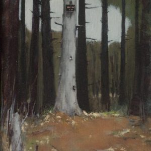 Trespass, 14x11 inches, oil on canvas, 2014