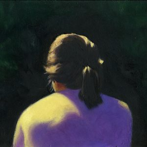 Pony Tail, 7x9½ inches, oil on canvas, 2016