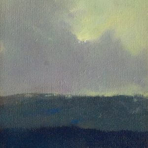 Untitled Landscape IV, 10x7 inches, oil on canvas, 2018