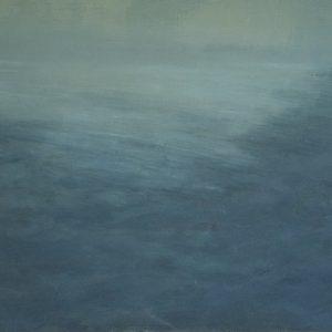 Mist, 16x20, oil on panel, 2019
